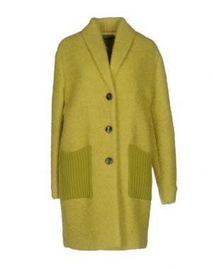 Пальто .TESSA. Цвет: кислотно-зеленый
