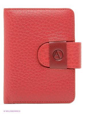 Чехол для кредитных карт Avanzo Daziaro. Цвет: красный