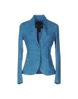 Пиджак IANUX. Цвет: лазурный