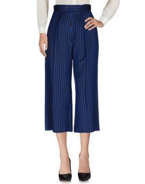 Повседневные брюки ELISABETTA FRANCHI. Цвет: темно-синий