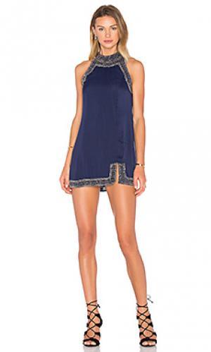 Платье gatsby NBD. Цвет: синий