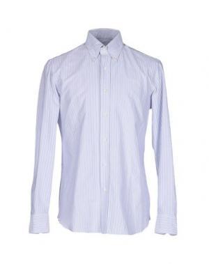 Pубашка SALVATORE PICCOLO. Цвет: светло-серый
