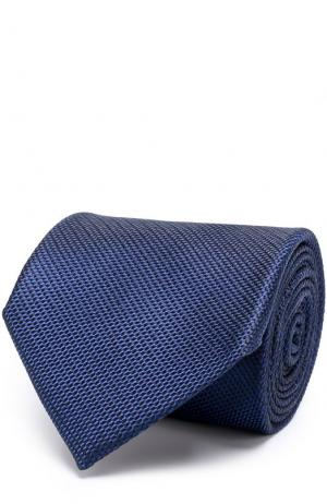 Шелковый галстук Tom Ford. Цвет: синий