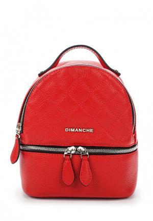 Рюкзак Dimanche. Цвет: красный