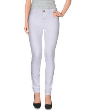 Повседневные брюки JACQUELINE de YONG. Цвет: белый
