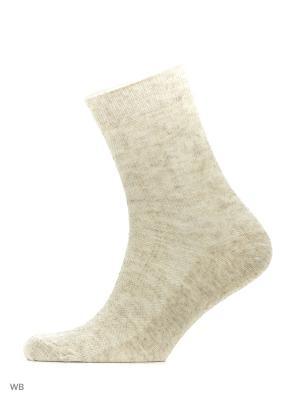 Носки, 5 пар Модекс. Цвет: светло-бежевый