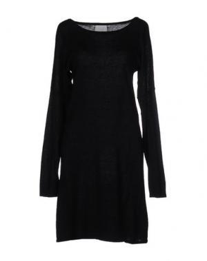 Короткое платье CA' VAGAN. Цвет: черный