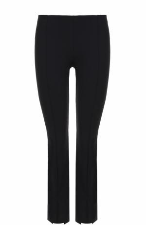 Укороченные брюки-скинни с разрезами The Row. Цвет: темно-синий