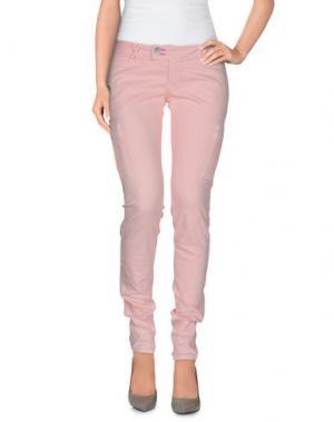 Повседневные брюки JCOLOR. Цвет: розовый