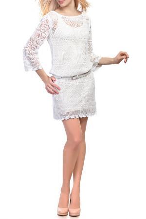 Платье HAPPYCHOICE. Цвет: белый