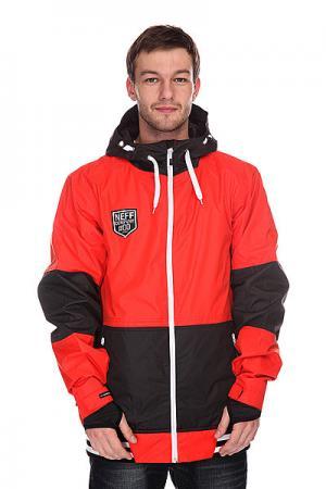 Куртка  Destroyer Red Neff. Цвет: красный