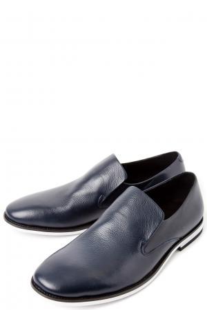 Полуботинки без шнуровки ALBA. Цвет: синий