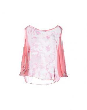 Блузка MISS MONEY. Цвет: розовый