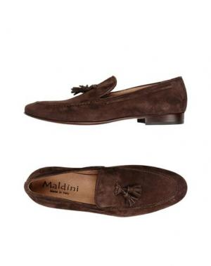 Мокасины MALDINI. Цвет: темно-коричневый