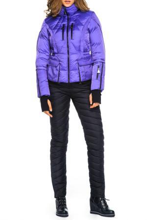 Пуховик Odri. Цвет: фиолетовый