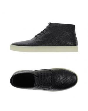 Высокие кеды и кроссовки ALEXANDER WANG. Цвет: черный