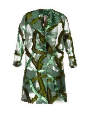 Легкое пальто KRISTINA TI. Цвет: зеленый