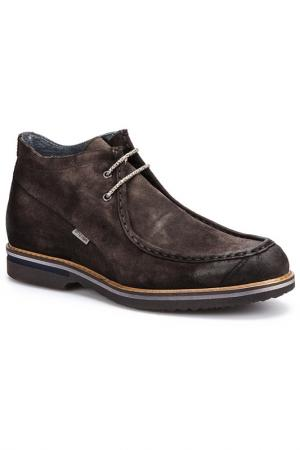 Ботинки Otto Kern. Цвет: серый