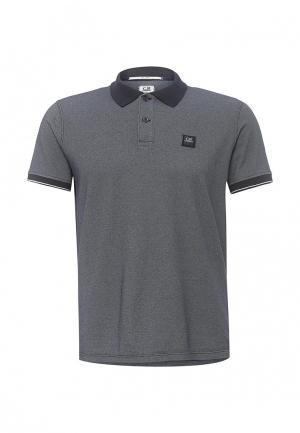 Поло C.P. Company. Цвет: серый