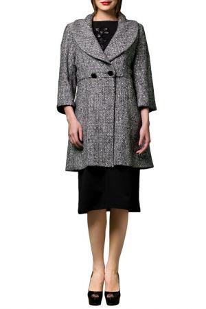 Пальто JOELLE JO'ELLE. Цвет: серый
