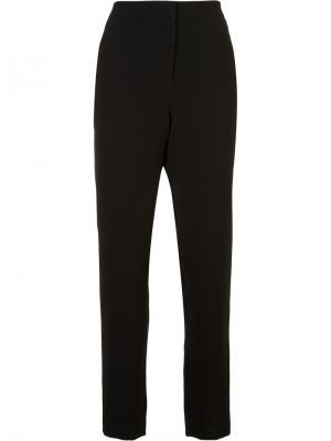 Классические брюки Monique Lhuillier. Цвет: чёрный
