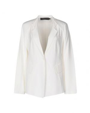 Пиджак DONNA KARAN. Цвет: белый