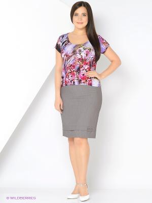 Блузка МадаМ Т. Цвет: сиреневый, розовый