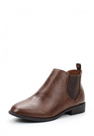 Ботинки Dorothy Perkins. Цвет: коричневый