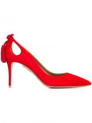 Туфли Formmid Aquazzura. Цвет: красный