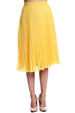 Юбка Emma Monti. Цвет: желтый