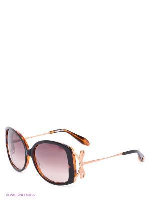 Солнцезащитные очки BLD 1409 202 Baldinini. Цвет: коричневый