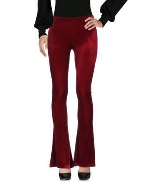 Повседневные брюки VALERIE KHALFON. Цвет: красно-коричневый