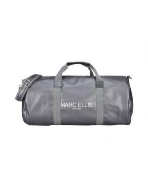 Дорожная сумка MARC ELLIS. Цвет: серый