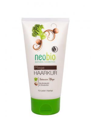 Neobio маска для волос. Цвет: бежевый
