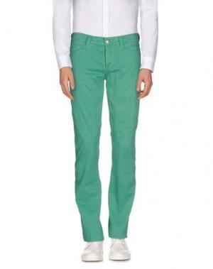 Повседневные брюки 9.2 BY CARLO CHIONNA. Цвет: изумрудно-зеленый
