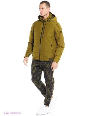 Куртка NIKE DWNTWN 550 JKT-HOODED. Цвет: хаки
