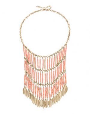 Ожерелье GEORGE J. LOVE. Цвет: розовый