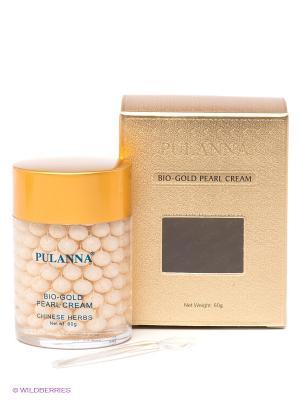 Жемчужный крем Pearl Cream, 60 г PULANNA. Цвет: золотистый