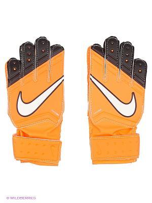 Перчатки NIKE GK JR MATCH. Цвет: оранжевый