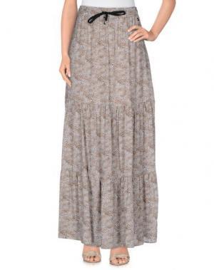 Длинная юбка SOUVENIR. Цвет: песочный