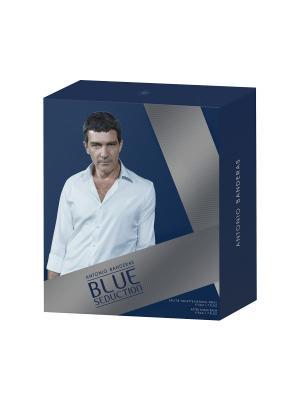 Blue Seduction Men Набор Туалетная вода 50 мл + бальзам после бритья ANTONIO BANDERAS. Цвет: прозрачный
