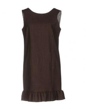 Короткое платье ...À_LA_FOIS.... Цвет: баклажанный