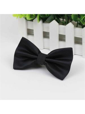 Галстук-бабочка Churchill accessories. Цвет: черный