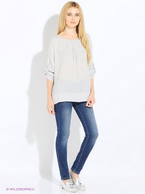 Блуза Rosa&Friends. Цвет: светло-серый