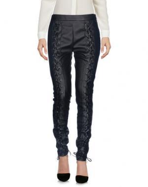 Повседневные брюки GIAMBA. Цвет: черный