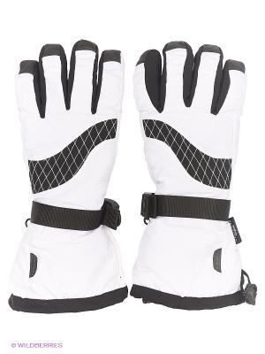 Перчатки горнолыжные Catmandoo. Цвет: белый