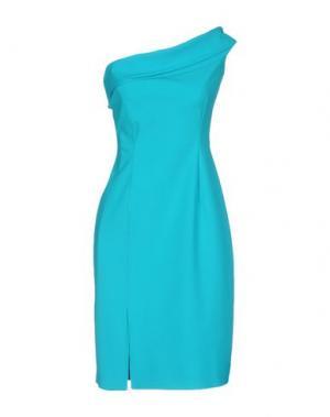 Короткое платье CHIARA BONI LA PETITE ROBE. Цвет: бирюзовый