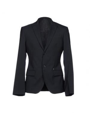 Пиджак BIKKEMBERGS. Цвет: темно-синий