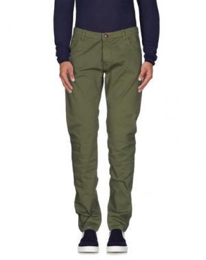 Джинсовые брюки NEW ENGLAND. Цвет: светло-зеленый