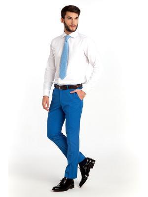 Брюки Sarto Reale. Цвет: голубой